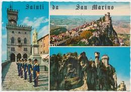 Saluti Da San Marino, Palazzo Del Governo, 1980 Used Postcard [20580] - San Marino