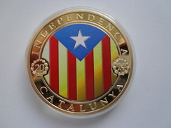 Pièce Commémorative 300 Anniversary Independencia Of Catalunya 11 Septembre 1774 - 2014  UNC - Andere Munten