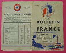 Ww2 Dépliant Aux Ouvriers Français Période Vichy Hotel Astrid Maréchal La France A Un Chef Raymond Lachal Propagande - Documents