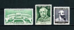 Cuba  Nº Yvert  A-164/6  En Nuevo - Poste Aérienne