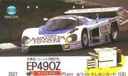 Télécarte JAPON * TOYOTA (1259) Phonecard JAPAN * VOITURE * Auto CAR * TELEFONKARTE * - Cars