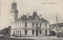 Poste - Poste Et Télégraphes - Cognac Hôtel Des Postes - Postal Services