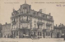 Poste - Poste Et Télégraphes - Pont-à-Mousson - Hôtel Des Postes Et Caisse D'Epargne - 1907 - Poste & Facteurs