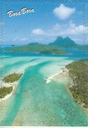 Bora Bora - Splendide Vue Aérienne De L'isle - Polynésie Française