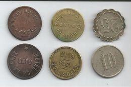 Jetons Monnaies Necessite -gand Gent - Monetari / Di Necessità