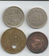 Jetons Monnaies Necessite -antwerpen - Monetari / Di Necessità