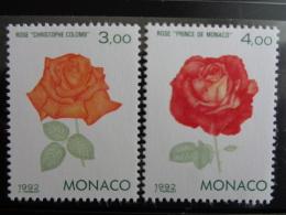 MONACO 1992 Y&T N° 1839 & 1840 ** - EXPOS. PHILATELIQUE INTERN. A GENES - Neufs