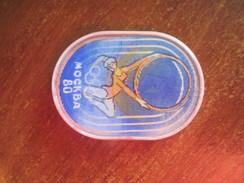 USSR Russia Moscow - 80 Olympics Artistic Gymnastics - Badges
