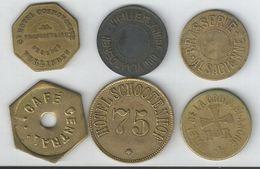 Jetons Monnaies Necessite Non Situés - Monetari / Di Necessità