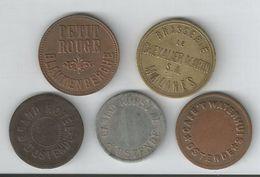 Jetons Monnaies Necessite Malines,ostende,blankenberge.... - Monetari / Di Necessità