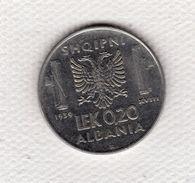 Albania 0.20 Lek 1939 XVIII Rara Vittorio Emanuele III Italia Splendida - Albanië