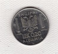 Albania 0.20 Lek 1939 XVIII Rara Vittorio Emanuele III Italia Splendida - Albania