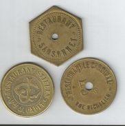 Jetons Monnaies Necessite Bruxeles - Monétaires / De Nécessité