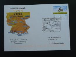 Entier Postal Stationery Cyclisme Course Cycliste Cycling Race Deutschland Tour 2005 Etape 7 Feldberg - Cyclisme