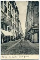 R.974.  VERONA - Via Cappello - 1909 - Verona
