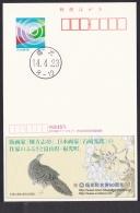 Japan Advertising Postcard 2002 Munakata Shiko Ishizaki Kouyou Painting Bird (jadb2209) - Interi Postali