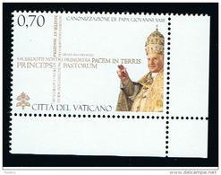 2014 - VATICAN - VATICANO - VATIKAN - S01I - MNH SET OF  1 STAMP  ** - Vatican