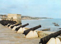 Afrique-GHANA   Cape Coast Castle Centre Of British Administration Till 1877 Canons Defended British Interest *PRIX FIXE - Ghana - Gold Coast