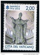2014 - VATICAN - VATICANO - VATIKAN - D20E - MNH  SET OF 1 STAMP ** - Vatican