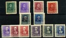 España Nº 841/44, 855/60, 845/6. Año 1938 - 1931-50 Neufs