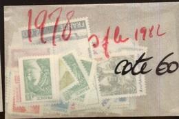 Année Neuve **   1978  Cote 60 Euros Mais Il Manque Le 1982 - 1970-1979