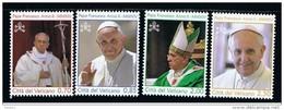 2014 - VATICAN - VATICANO - VATIKAN - D12E - MNH SET OF 4 STAMPS  ** - Vatican
