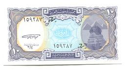 Egypt 10 Piastres Banknote - Aegypten