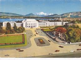 Switzerland Geneve Pe Palais Nations Unies et le Mont-Blanc