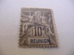 TIMBRE  REUNION   N  36   COTE  4,00  EUROS    OBLITERE - Réunion (1852-1975)