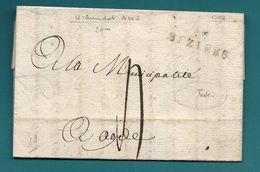 Hérault - Beziers Pour Agde (Hérault. Texte Intéressant: Etats Des Chevaux/Mules.... - 1701-1800: Precursors XVIII