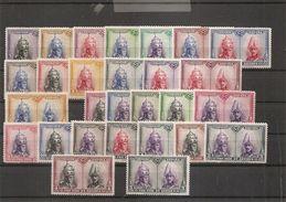 Espagne ( 339/366 X -MH) - 1889-1931 Regno: Alfonso XIII