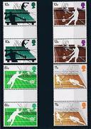 [42926] Great Britain 1977 Sports Tennis Wimbledon Gutter Pairs MNH - Stamps