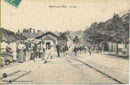 PRECY SOUS THIL  La Gare - Autres Communes