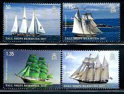 "Bermuda     ""Tall Ships""    New Issue Set   August-31-2017   MNH - Bermuda"