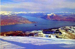 Panorama Del Lago Maggiore - Della Vetta Del Mattarione - Formato Grande Non Viaggiata – Ar - Ohne Zuordnung