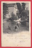 CPA *89* TOUCY * 1900 * Moulin Des CHAMPEAUX_Animation* VOIR  Scann Recto/verso - Toucy
