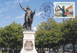 Carte-Maximum FRANCE N° Yvert 3939 (ROUGET DE LISLE) Obl Sp Ill 1er Jour Lons Le Saunier (Ed As De Coeur) - Cartes-Maximum