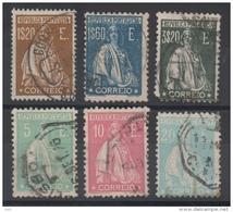 PORTUGAL - YT N° 291+294 à 298 - Cote: 378,50 € - 1910-... Republic