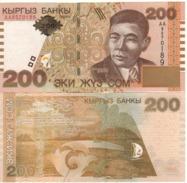 KYRGYSTAN   200 Som   P16  Dated  2000   UNC - Kirghizistan