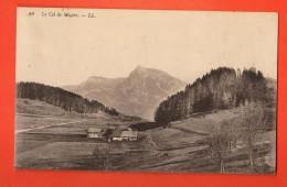 NEM-25 Le Col De Megève, Fermes Isolées. Circulé - Megève