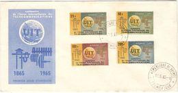 GUINEE - 1965 - UIT Centenaire De L'Union Internationale Des Télécommunications - FDC - Guinea (1958-...)