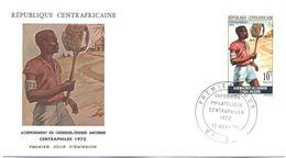 Repubblica Centroafricana - REPUBLIQUE CENTRAFRICAINE - 1972 - 10F Centraphilex - FDC - Repubblica Centroafricana