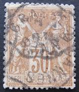 LOT R1703/531 - SAGE Type II N°80 CACHET AMBULANT GRASSE à CANNES - 1876-1898 Sage (Type II)