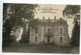 La Chapelle Grésignac Château De Beaumont - France