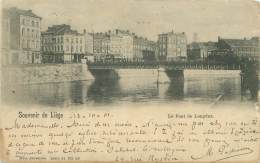 Souvenir De LIEGE - Le Pont De Longdoz - Liège