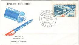 Repubblica Centroafricana - REPUBLIQUE CENTRAFRICAINE - 1972 - 200F Centraphilex - FDC - Repubblica Centroafricana
