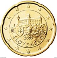 Slovakije 2017     20 Cent      UNC Uit BU  UNC Du Coffret  !! - Slovaquie