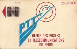 TARJETA TELEFONICA DE BENIN. (1ª EMISION CON CHIP). (933) - Benin