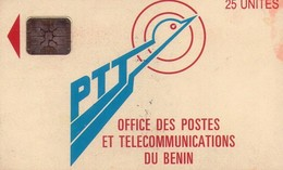 TARJETA TELEFONICA DE BENIN. (1ª EMISION CON CHIP). (934) - Benin