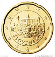 Slovakije 2016     20 Cent      UNC Uit BU  UNC Du Coffret  !! - Slovaquie